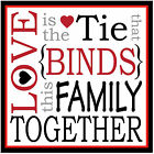 FAMILY TOGETHER - SET OF FUN COASTERS - GIFT/ BIRTHDAY / XMAS - BRAND NEW
