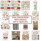 WINTER WOODLAND Helz Cuppleditch Full Christmas Craft Collection Papers/Embellis