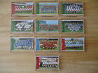 VINTAGE 1970's 'THE SUN SOCCERSTAMPS' FRIDGE MAGNET. PICK YOUR CLUB FROM LIST.