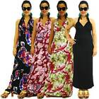 NWT Sz XS/S/M/L NEW Women Halter Bridesmaid Party Evening/Summer Maxi Full Dress