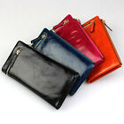 DR151 New small Women's Real Leather purse Wallet Lock Purse Clutch card handbag
