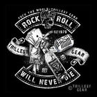 NEU MEN T-SHIRT S M L XL XXL - Schwarz Rock n Roll Rockabilly Hot Rod Old School