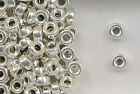 Sterling Silver Beads, 5mm Plain Flat Round Design, New