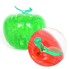 3D Crystal Fruit Apple Jigsaw Puzzle IQ Gadget 44pcs Furnish Cube Toy Gift