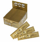 OCB GOLD KING SIZE PREMIUM SLIM CIGARETTE ROLLING PAPERS TOBACCO ROLLING PAPERS
