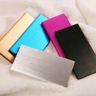 10000mAh External thin Battery USB Charger Power Bank For iPhone Samsung 5Colors