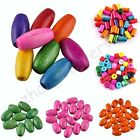 Wholesale Mixed Lots Colorful Tube Wood Spacer Loose Beads Charms Assorted Sizes
