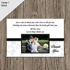 Personalised Wedding Photo Thank You X-LARGE MAGNET Cards 8 Colours TML1