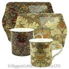 NEW FLORAL Design Mini Serving TRAY & Matching MUG SET Leonardo WILLIAM MORRIS