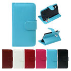 Leather Wallet Flip Cover Case Skin For Samsung Galaxy S4 mini i9190 T5JC