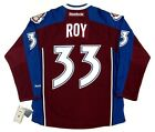 PATRICK ROY COLORADO AVALANCHE REEBOK PREMIER HOME JERSEY NEW WITH TAGS
