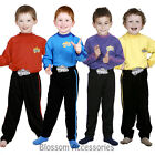CK259 The Wiggles Boys Premium Child Kids Book Week Party Dress Up Costume