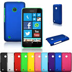 For Nokia Lumia 530 Ultra Thin Slim Fit Matte PC Hard Back Case Skin Cover
