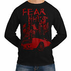 Wellcoda | NEW Fear This Muscle Car Mens Womens Funny Long Sleeve T-Shirt *so91