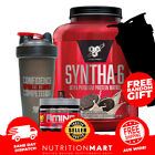 BSN SYNTHA 6 5lbs - + FREE SAMPLES 5LB SYNTHA 6 PROTEIN 2.27KG
