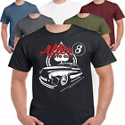 Hot Rod 58 After8 American V8 Rat Muscle Car Drag Racing Route 66 T shirt S-3XL2