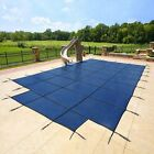 16x32 MESH, Winter SAFETY POOL COVER for INGROUND POOL, 15 Yr WARRANTY
