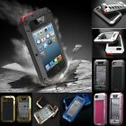 Aluminum Metal Shock/Dust/Water Proof Case Cover For Apple iPhone 4S 5S 6 4.7""