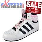 Adidas Originals Womens Girls Topten Hi Trainers White * AUTHENTIC *
