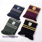 Adult Harry Potter Gryffindor/Slytherin/Ravenclaw/Hufflepuff Scarf Xmas Gifts