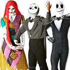 The Nightmare Before Christmas Adults Fancy Dress Halloween Mens Ladies Costume
