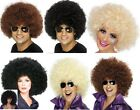 1970's Afro Wig Curly Mega Huge 70's DISCO Brown Black Blonde Mens Womens Wigs