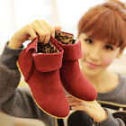 New fashion Womens Winter Boots Faux Suede Snow Ankle Casual Outdoor Shoes 2014