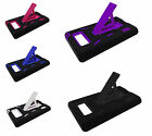 For LG Optimus Showtime L86c Kickstand Hybrid Dual Phone Cover Case Accessory