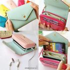 Women Fashion Envelope Wrist Wallet For Samsung Galaxy S2 S3 iPhone Party
