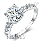 Geogous Womens TTstyle Engagement Wedding Ring Size 5-8 NEW Arrival