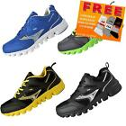 Airtech Mens Wave Shock Absorbing Running Gym Trainers * AUTHENTIC *