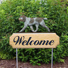 Spinone Italiano Welcome Sign Stake Home Yard  Garden Dog Products Gifts