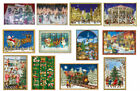 Fabulous unusual Advent calendar cards traditional german design