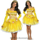CL50 Sassy Belle Deluxe Beauty & the Beast Princess Fancy Dress Adult Costume