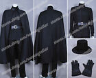 V for Vendetta Cosplay Hugo Weaving V Costume and Cape Uniform Outfit Good Sell