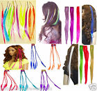 NEON HAIR EXTENSIONS 80'S FANCY DRESS TUTU