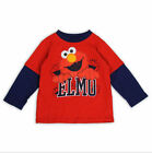 ELMO Boys Toddler Long/Short Look Top, 2T, 3T, 4T