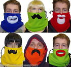 DOUBLE LAYER Fleece NECK WARMER  moustache