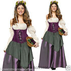 CL94 Tavern Wench Diamond Collection Oktoberfest Women Fancy Dress Adult Costume