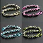 2-COLOR BYZANTINE BRACELET KIT-Chain Maille/Mail Jump Ring Jewelry Making Craft
