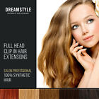 Extra Volume Full Head Clip In Hair Extensions Silky Straight  All Colours
