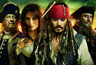 Pirates of the Caribbean Jack Sparrow Giant Poster - A0 A1 A2 A3 A4 Sizes