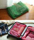 HIMORI Travelus Mesh Pouch - Cube XL - Travel Clothes Bag Luggage Organizer