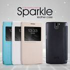 ONEPLUS ONE A0001 NILLKIN SPARKLE LEATHER SMART FLIP CASE ONE PLUS ONE