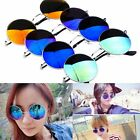 Fashion  Sun Glasses Hinge Circle Round Glasses Sunglasses Vintage