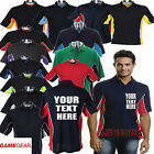 Custom Printed Personalised Polo shirt Teamwear Crew Darts Pool Bowling team top