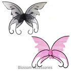 A386 Black or Pink Adult Butterfly Fairy Angel Halloween Costume Accessory