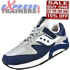 Saucony Mens Grid 9000 Retro Running Shoes Trainers Navy * AUTHENTIC *