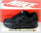 2014 Nike Wmns Air Max 90 PREM Premium Crocodile Black Silver 443817-003 US 6~12