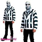 Licensed Mr Beetlejuice Outfit Fancy Dress Party Dress Halloween Costume